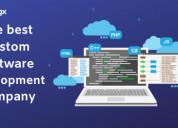 Hire best custom software development company