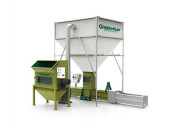 Factory price greenmax z-c300 foam compactor