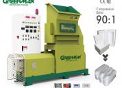 Factory price greenmax styrofoam densifier