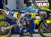 Factory mx graphics with its suzuki dirt bike grap