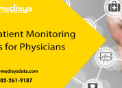 Remote patient monitoring opportunities for physic