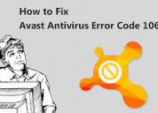 Hoe avast antivirus-foutcode 1067 te repareren?