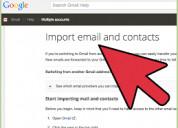 Hoe hotmail-account overzetten naar gmail?