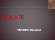 Sap bods training by tekslate