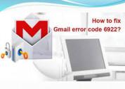Hoe gmail-foutcode 6922 te repareren?