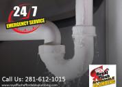 Get 24*7 emergency plumbers