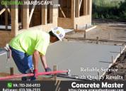 Concrete service in rockville