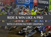 Factory mx graphics and its top quality motocross