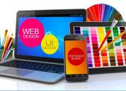 Hire creative and unique website design services