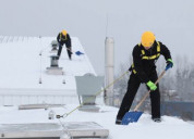 Snow roof removals