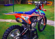 You will enjoy riding your ktm sx, sxf, e-sx, xc-f