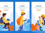 Seasonal travel app - the app ideas