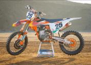 Ktm factory team orange graphics kit