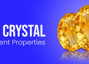Citrine crystal - its magnificent properties
