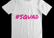 T-shirt -squad - from holy international