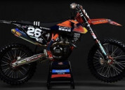 Ktm factory gopro black team graphics kit