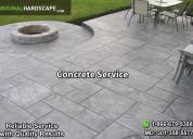 Concrete driveway service md va