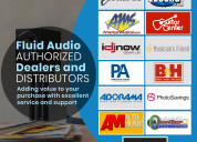 Fluid audio authorize dealers and distributers