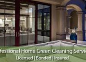 Professional home & commercial green cleaning serv