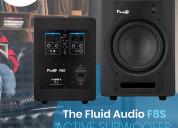 Fluid audio f8 s active sub-woofer