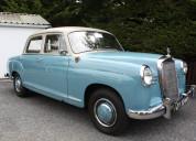 1959 mercedes-benz 190 ponton saloon.