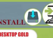 Install desktop gold software | aol support