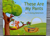 New children's book- these are my pants