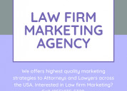 Law firm digital marketing agency in usa