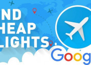 How to use google flights to find cheap airline ti