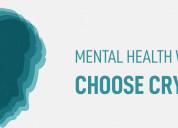 Mental health worries? choose crystals