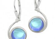 Dangling crystal drop earrings by leightworks