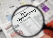 Best offer of employment online
