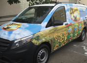 car wrap with axiom print