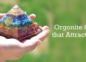 Orgonite crystals that attract money