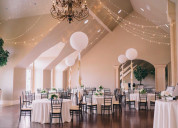 Outdoor and  luxury  wedding  venues at sleepy rid