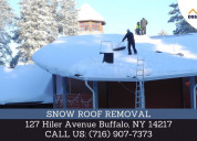Snow roof removals|| snow removal in new york