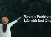 Have a positive view of life with red onyx crystal
