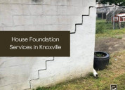 House foundation services in knoxville, tennessee