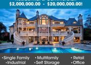 Jumbo investor loans - $2million - $20million resi