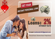 Contact us for urgent business loan and personal l