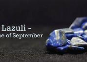 Lapis lazuli - the stone of september
