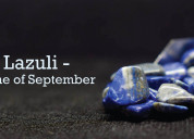 Know about the stone of september lapis lazuli