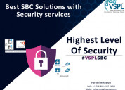Vspl provides best sbc solutions with security ser