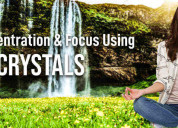 Crystals that increase concentration and focus