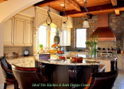 Kitchen remodeling & design services - ideal tile