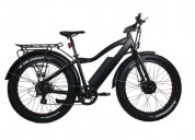 All-wheel drive e-bike designed with snow & beach