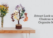Attract luck and balance chakras with special orgo
