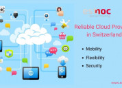 Reliable cloud provider in switzerland