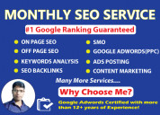 Monthly seo service top search engine ranking