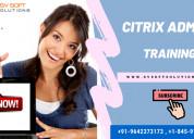 Best citrix admin training online in new york